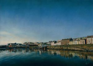 'Portrush Harbour' Limited Edition Giclee Print featuring Portrush Harbour. Original Art by Northern Irish artist Emma Colbert.