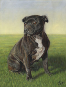 Milly Pastel Painting