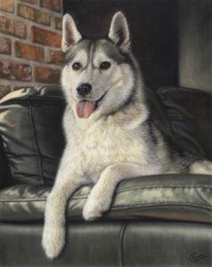Misty's finished portrait