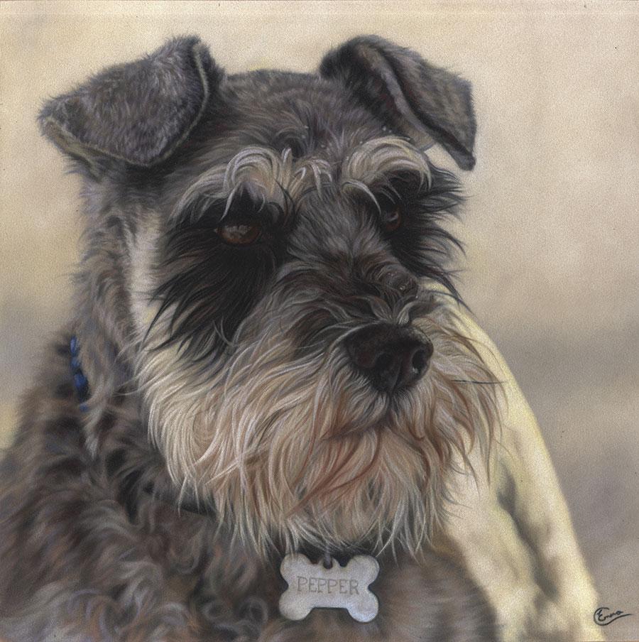 Dog Portraits Portfolio Emma Colbert Art Northern
